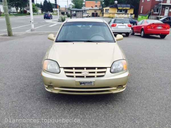 hyundai Accent GS  2004  automatique