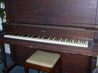 Piano Behing (Antique)
