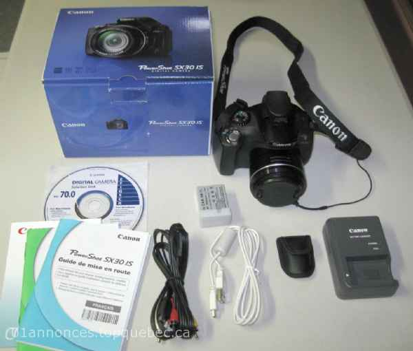 Canon PowerShot SX30 IS avec zoom de 35X